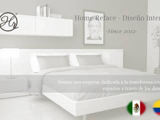 NATALIA JIMENEZ - INTERIOR DESIGN STUDIO モダンスタイルの寝室