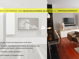 Moderne Wohnzimmer von HR® By Natalia Jiménez Modern