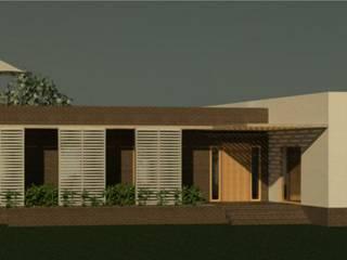 Casa en Olmue Casas de estilo mediterráneo de Casas del Girasol- arquitecto Viña del mar Valparaiso Santiago Mediterráneo