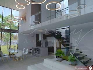 Casa Bellavista Salones modernos de GARAY ARQUITECTOS Moderno