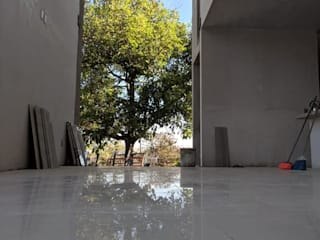 Casa Bellavista Pasillos, vestíbulos y escaleras modernos de GARAY ARQUITECTOS Moderno