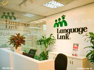 Công trình thiết kế nội thất trung tâm tiếng anh Language Link bởi SY DESIGN Hiện đại