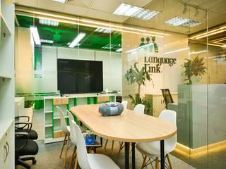 Công trình thiết kế nội thất trung tâm tiếng anh Language Link Phòng học/văn phòng phong cách hiện đại bởi SY DESIGN Hiện đại