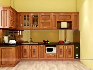 Lý do gỗ óc chó được dùng làm tủ bếp bạn nên biết bởi Nội thất Nguyễn Kim