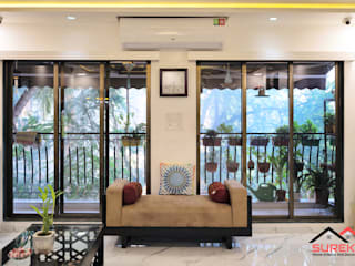 3 bhk Home Interior done By Surekh Interior Classic style living room by Surekh Home Interior and Decoration Classic