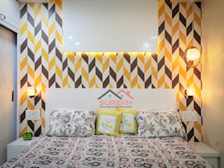 3 bhk Home Interior done By Surekh Interior Classic style bedroom by Surekh Home Interior and Decoration Classic