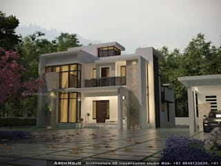 Exterior designing by ARCHMOJO