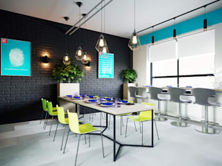 Interior design of the office EPAM company by Planka Modern