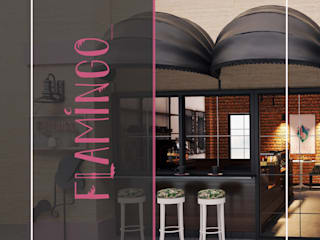 Flamingo Coffee Bar cansu kaya Modern
