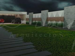Remodelación de cochera y jardín Jardines modernos de GARAY ARQUITECTOS Moderno