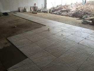 Remodelación de cochera y jardín Garajes modernos de GARAY ARQUITECTOS Moderno