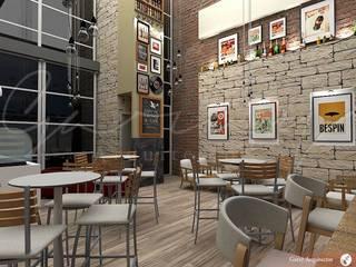 Oficinas y café de GARAY ARQUITECTOS Moderno