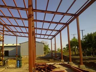 Planta procesadora de fruta Espacios comerciales de estilo industrial de GARAY ARQUITECTOS Industrial