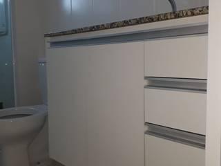 Cedrus Marcenaria Salle de bainArmoires à pharmacie MDF Blanc