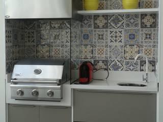 Cedrus Marcenaria 廚房收納櫃與書櫃 MDF Multicolored