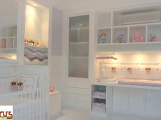 Cedrus Marcenaria 嬰兒/兒童房衣櫥與衣櫃 MDF White