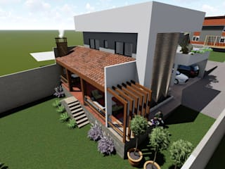 Casa Mercês Danilo Rodrigues Arquitetura Casas familiares