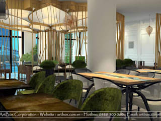 Thiết kế nội thất Khách sạn Quốc Hoa - Bát Đàn Thiết Kế Nội Thất - ARTBOX