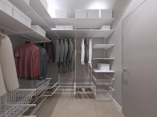 Modern dressing room by Студия дизайна и визуализации интерьеров Ивановой Натальи. Modern