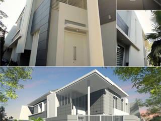 Margorejo Indah Residential Oleh Crea architect Modern