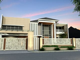 Kupang Indah Residential Oleh Crea architect Minimalis