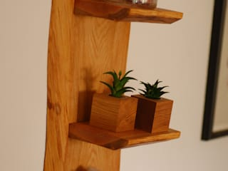 Uriges Wandregal Schöner Wohnen mit Holz WohnzimmerRegale