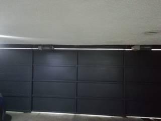 Puertas Automáticas JDoors Casas pequenas Ferro/Aço Preto