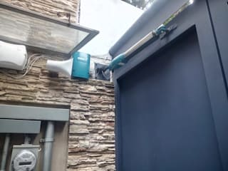 Puertas Automáticas JDoors Portas de entrada Ferro/Aço Preto