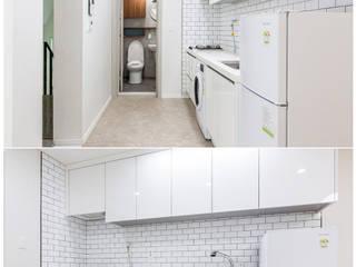 Salones de estilo  de 한글주택(주), Moderno