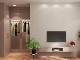 Thiết kế và thi công nội thất nhà phố dự án Thăng Long Home: Châu Á  by Công ty TNHH kiến trúc xây dựng nội thất An Phú, Châu Á
