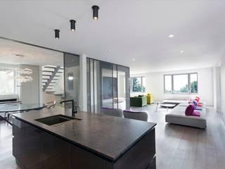 Livings de estilo moderno de Zoubeir Azouz Architecture Moderno