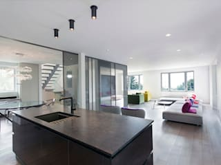 Edgehill Residence | Westmount Modern Living Room by Zoubeir Azouz Architecture Modern