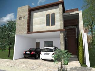 Del Rio Arquitectos Small houses Concrete White