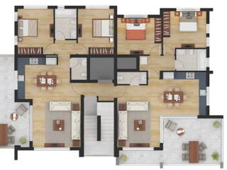 de JMSD Consultant - 3D Architectural Visualization Studio Moderno