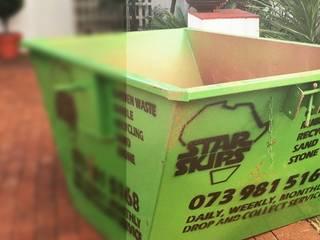 Classic style gardens by Star Skips Mini Skip Hire Pretoria Classic