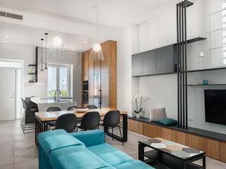 manuarino architettura design comunicazione Built-in kitchens Iron/Steel Black