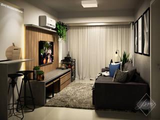 Laura Santa Maria Arquitetura Living room