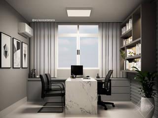 Laura Santa Maria Arquitetura Commercial Spaces Grey