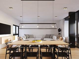 Phòng ăn phong cách hiện đại bởi SF Render Hiện đại