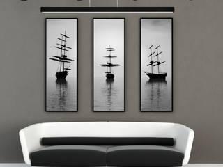 LED Prestige - minimalistyczna lampa do nowoczesnych wnętrz. od 4FunDesign.com Nowoczesny