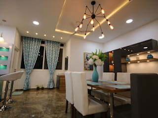 Dining View Enrich Interiors & Decors Modern dining room