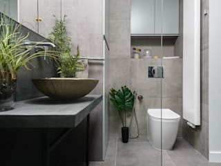 Modern style bathrooms by Q2Design Modern