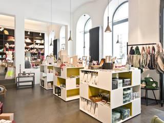 Heimweh Wien heimweh plus Geschäftsräume & Stores Beton Weiß