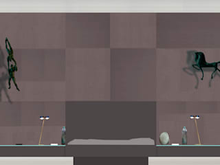 Vorschlag für eine textile Wandgestaltung von eichhorn-design Klassisch