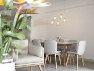 Salon moderne par NATALIA JIMENEZ - INTERIOR DESIGN STUDIO Moderne