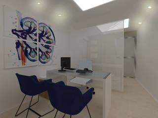 Bureau moderne par NATALIA JIMENEZ - INTERIOR DESIGN STUDIO Moderne