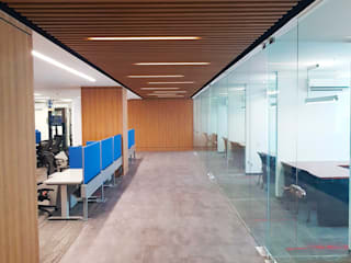 Taller de Arquitectura Bioclimatica Modern Study Room and Home Office