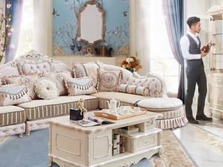 Nội thất phòng khách trọn gói: scandinavian  by Công Ty Nội Thất Onplaza , Bắc Âu