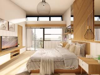 Quartos tropicais por Structura Architects Tropical