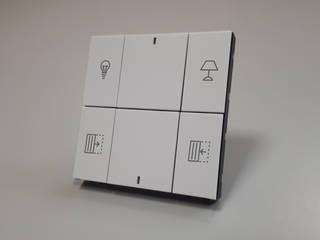 Interruptores de luxo e soluções de domótica por DLOFT